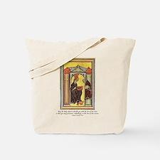 Hildegard of Bingen Tote Bag