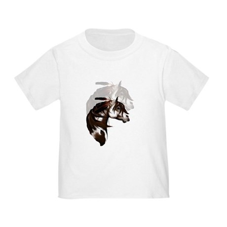 Feathered Paint Horse Toddler T-Shirt