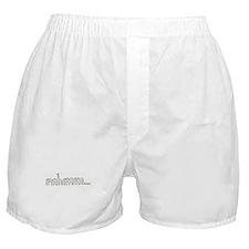 mhmm... Boxer Shorts