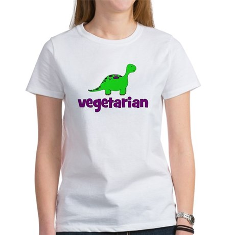 Vegetarian - Dinosaur Women's T-Shirt