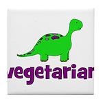 Vegetarian - Dinosaur Tile Coaster