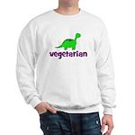 Vegetarian - Dinosaur Sweatshirt