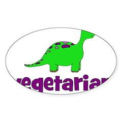 Vegetarian - Dinosaur Decal