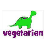 Vegetarian - Dinosaur Postcards (Package of 8)