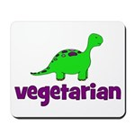 Vegetarian - Dinosaur Mousepad