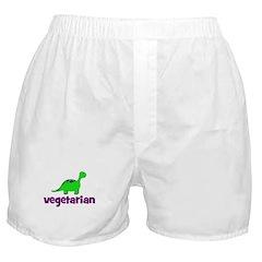 Vegetarian - Dinosaur Boxer Shorts