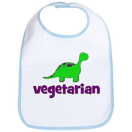 Vegetarian - Dinosaur Bib