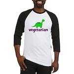 Vegetarian - Dinosaur Baseball Jersey