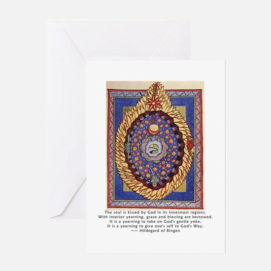 HB Kissed by God Greeting Card