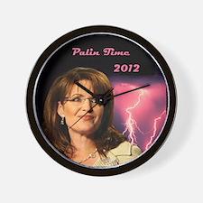 Palin Time 2012 Wall Clock