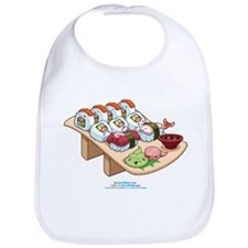 Kawaii California Roll and Sushi Nigiri Bib