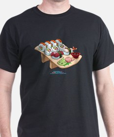 Kawaii California Roll and Sushi Nigiri T-Shirt