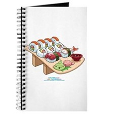 Kawaii California Roll and Sushi Nigiri Journal