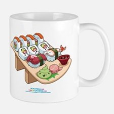 Kawaii California Roll and Sushi Nigiri Mug
