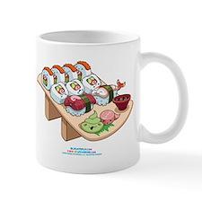 Kawaii California Roll and Sushi Nigiri Mug