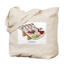 Kawaii California Roll and Sushi Nigiri Tote Bag