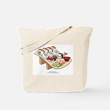 Kawaii California Roll and Sushi Nigiri Tote Bag