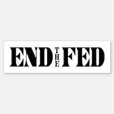 End The Fed Sticker (Bumper)