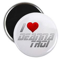I Heart Deanna Troi Magnet