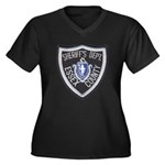 Essex County Sheriff Women's Plus Size V-Neck Dark