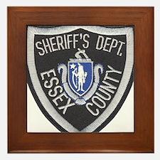 Essex County Sheriff Framed Tile