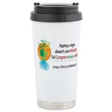 Funny Violence against women Travel Mug