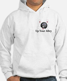 Up Your Alley Logo 5 Hoodie Design Fron