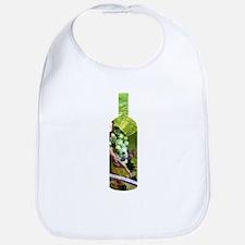 Wine Bottle by Joe Monica Bib