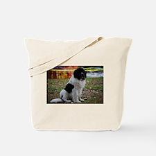 Landseer Newfie Tote Bag