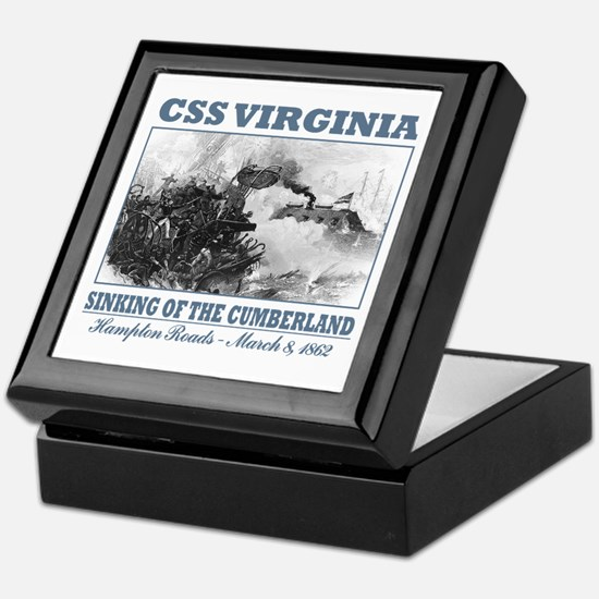 CSS Virginia Keepsake Box