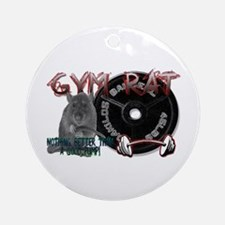 Gym rat Ornament (Round)