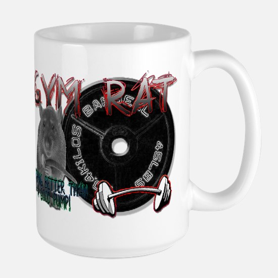 Gym rat Large Mug