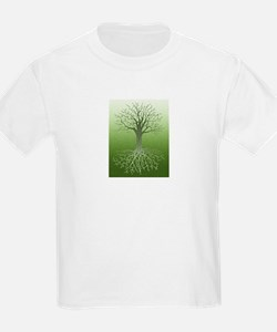 Solstice Tree Kids T-Shirt