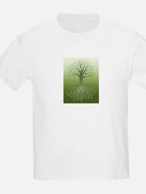Solstice Tree Kids T-Shirt