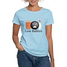 Low Ballers Logo 10 T-Shirt Design F
