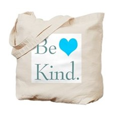 """""""Be Kind"""" with a heart. Tote Bag"""