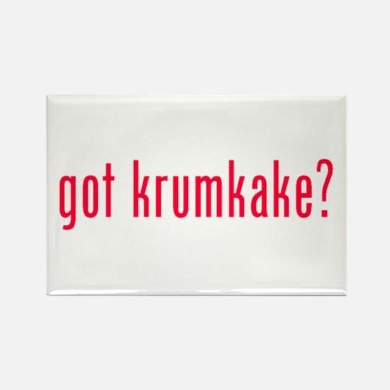 got krumkake? (red) Rectangle Magnet