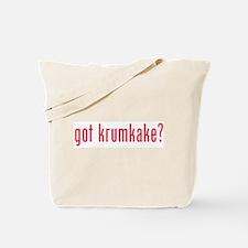 got krumkake? (red) Tote Bag