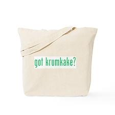 got krumkake? (green) Tote Bag