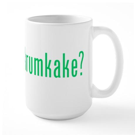 got krumkake? (green) Large Mug