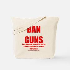 Ban Guns Tote Bag