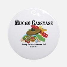 Mucho Gassyass Ornament (Round)
