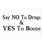 Yes To Booze Postcards (Package of 8)