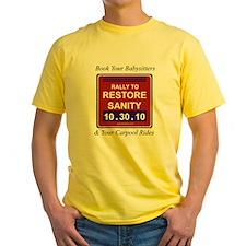 bookyourbabysitters T-Shirt