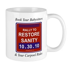 Unique Rally to restore sanity Mug