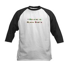 I believe in black santa Tee