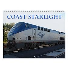 Wall Calendar - Coast Starlight