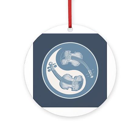 Violyin-Yang Ornament (Round)
