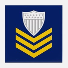 Petty Officer First Class Tile Coaster 2