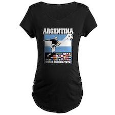 Argentina World Soccer Goal T-Shirt
